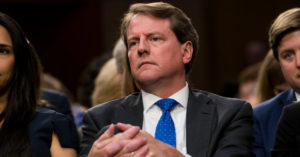 Apple Says It Turned Over Data on Donald McGahn in 2018